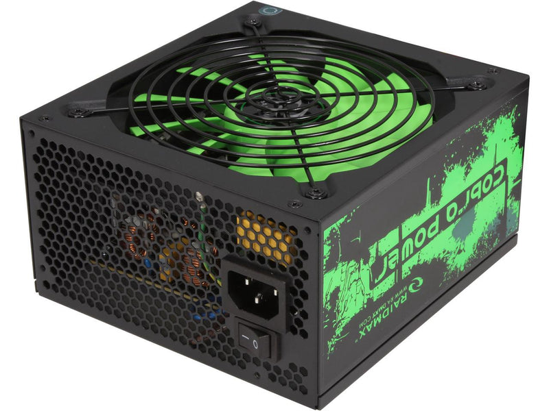 Raidmax Cobra 500W Bronze Non-Modular PSU - Platinum Selection