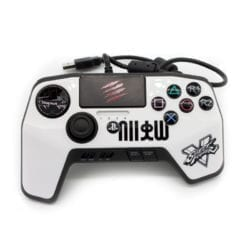 MADCATZ CONTROLLER WHITE – PS3/PS4 - Platinum Selection