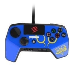 MADCATZ CONTROLLER BLUE – PS3/PS4 - Platinum Selection