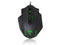 T-Dagger Major 8000DPI 10 Button|180cm Cable|Ergo-Design|RGB Backlit Gaming Mouse - Black/Green - Platinum Selection
