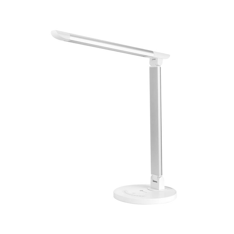 Taotronics LED 410 Lumen Desk Lamp with USB 5 V/1 A Charging Port - Silver - Platinum Selection