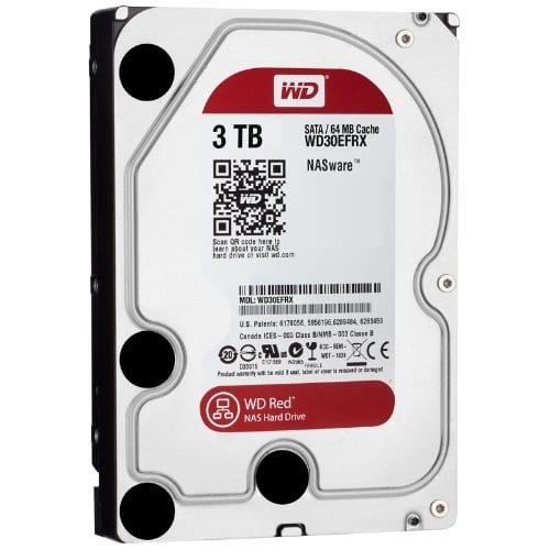 WD Red 3TB 3.5 SATA 64MB - Platinum Selection