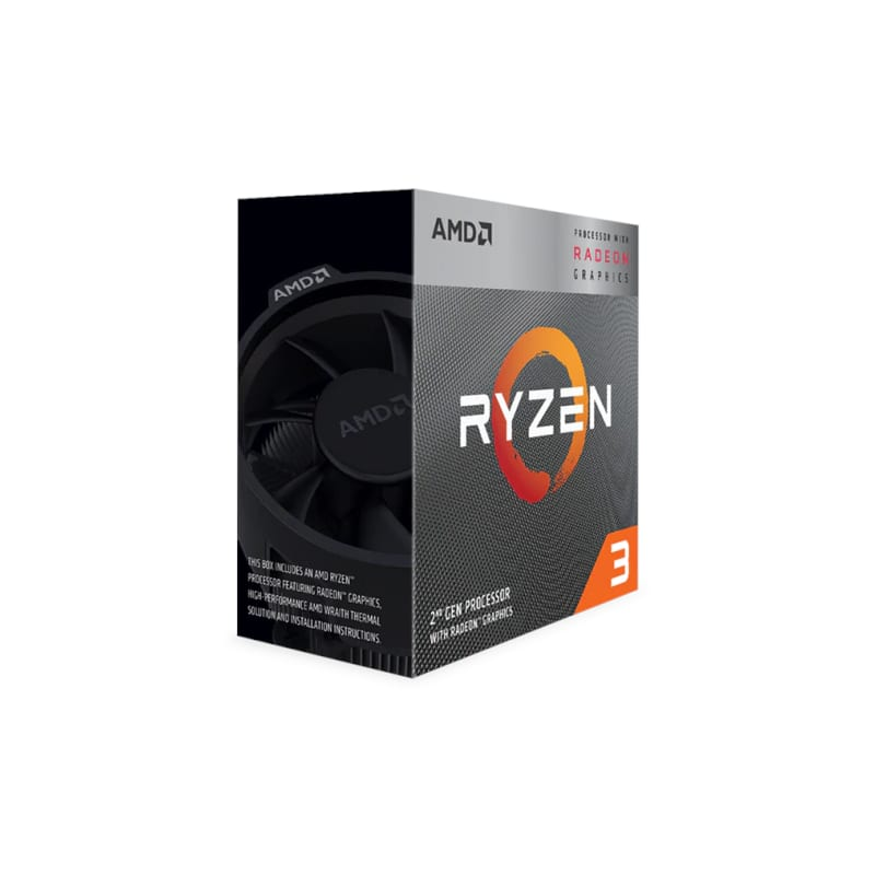 AMD RYZEN 3 3200G 4-CORE 3.6GHZ AM4 - Platinum Selection