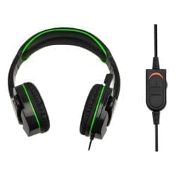 SPARKFOX X-BOX ONE SF1 STEREO HEADSET BLACK AND GREEN - Platinum Selection