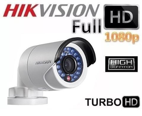 HikVision 8 Ch Turbo HD Kit - Embedded DVR - 4 x HD1080P Camera - 20M Night vision - 500GB HD - 100m Cable - Platinum Selection