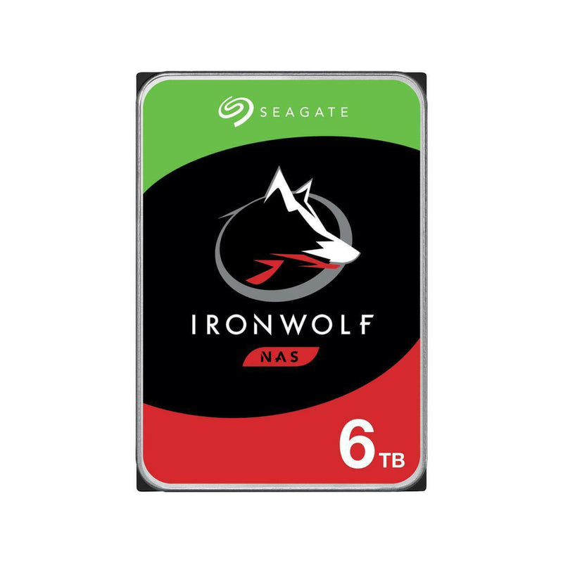 SEAGATE 6TB 3.5 IRONWOLF NAS HDD 256MB CACHE