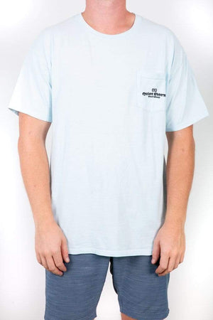 HANES Unisex Surf Check Pocket Tee