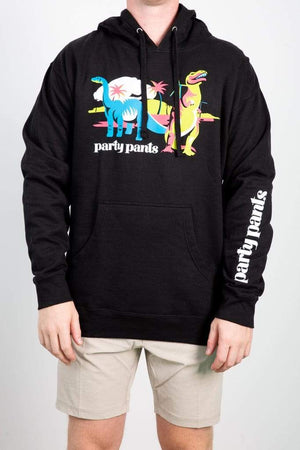 PARTY PANTS GEN-Men's BLACK / S Party Pants Coachella Hoodie