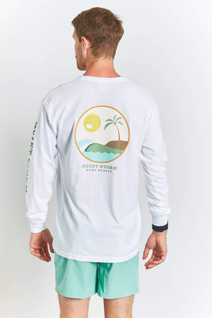 QSSS/COMFORT COLORS Unisex WHITE / S Islands comfort color long sleeve tee