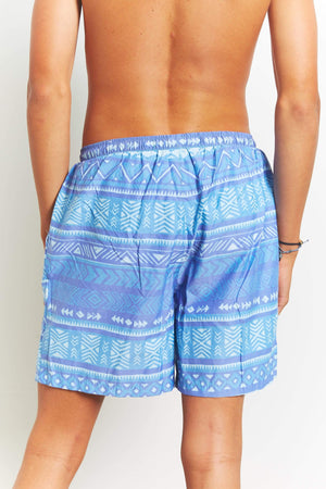 QSSS/XIAMEN VOLARE TRADING CO Mens Tribal volley shorts