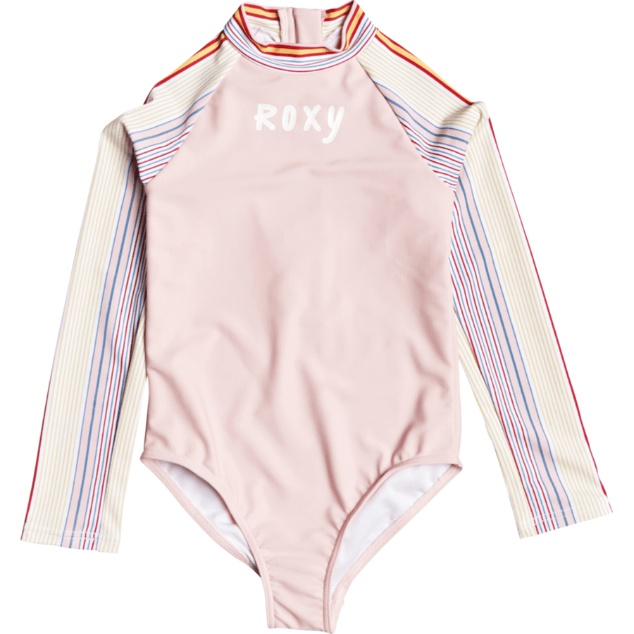 Roxy Bright White Fish St / 4 ROXY KINDNESS LS ONESIE