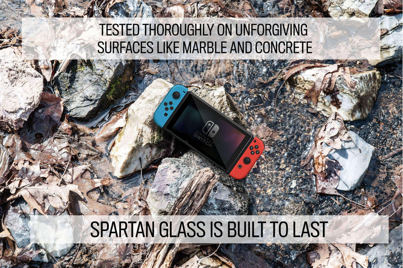 Spartan Glass 9H Tempered Glass Screen Protector for Nintendo Switch - Hephaestus UK