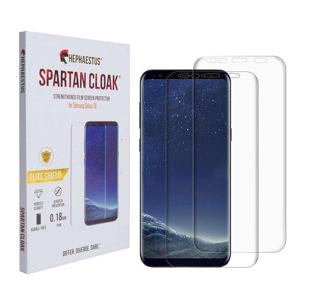 Spartan Cloak Strengthened Film Screen Protector for Samsung Galaxy S8 - Hephaestus UK