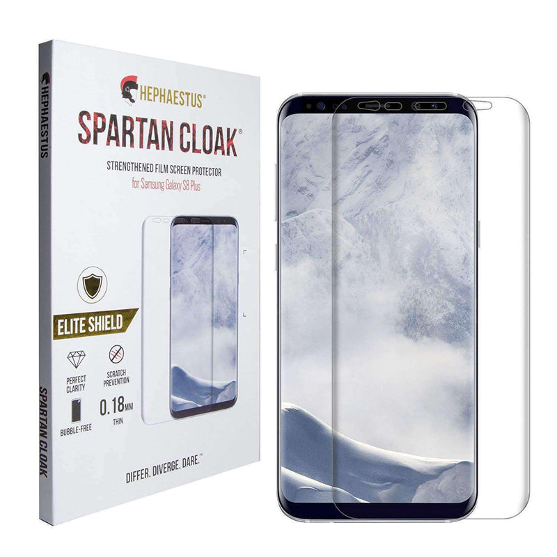 Spartan Cloak Strengthened Film Screen Protector for Samsung Galaxy S8 Plus - Hephaestus UK