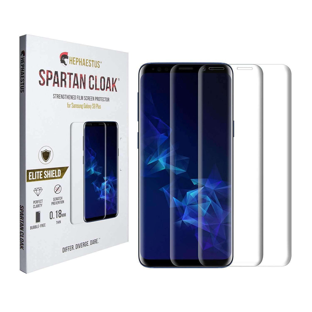 Spartan Cloak Strengthened Film Screen Protector for Samsung Galaxy S9 Plus - Hephaestus UK