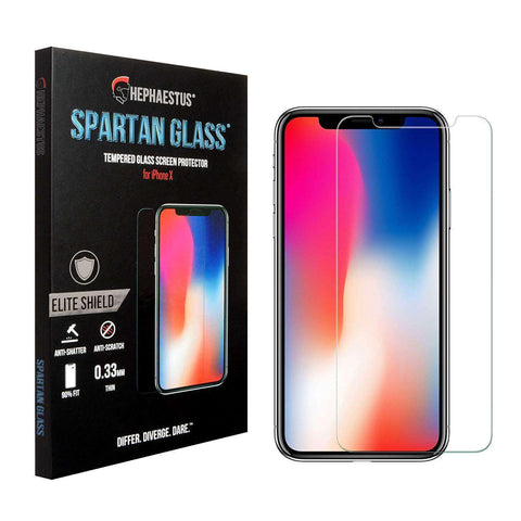 Spartan Glass 9H Tempered Glass Screen Protector for iPhone 7 Plus & iPhone 8 Plus