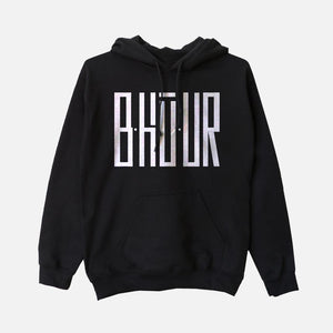 Simply B•hū•UR ! Unisex Hooded Sweatshirt (Black)