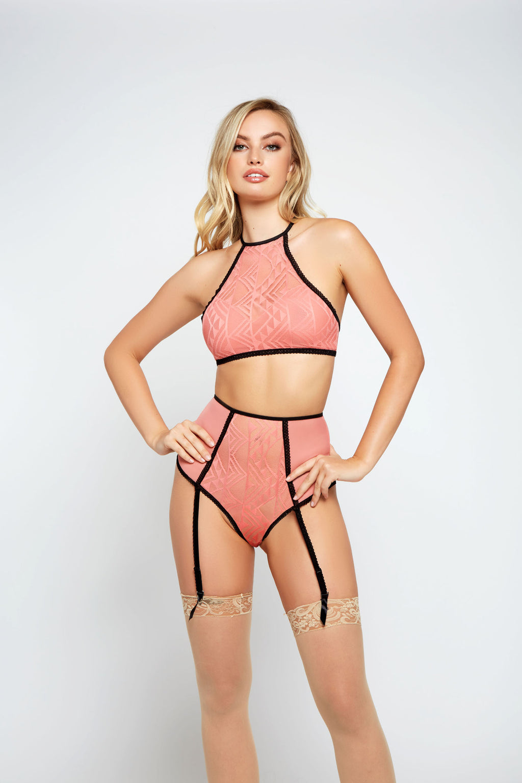 Peachy Two Piece Bralette Set