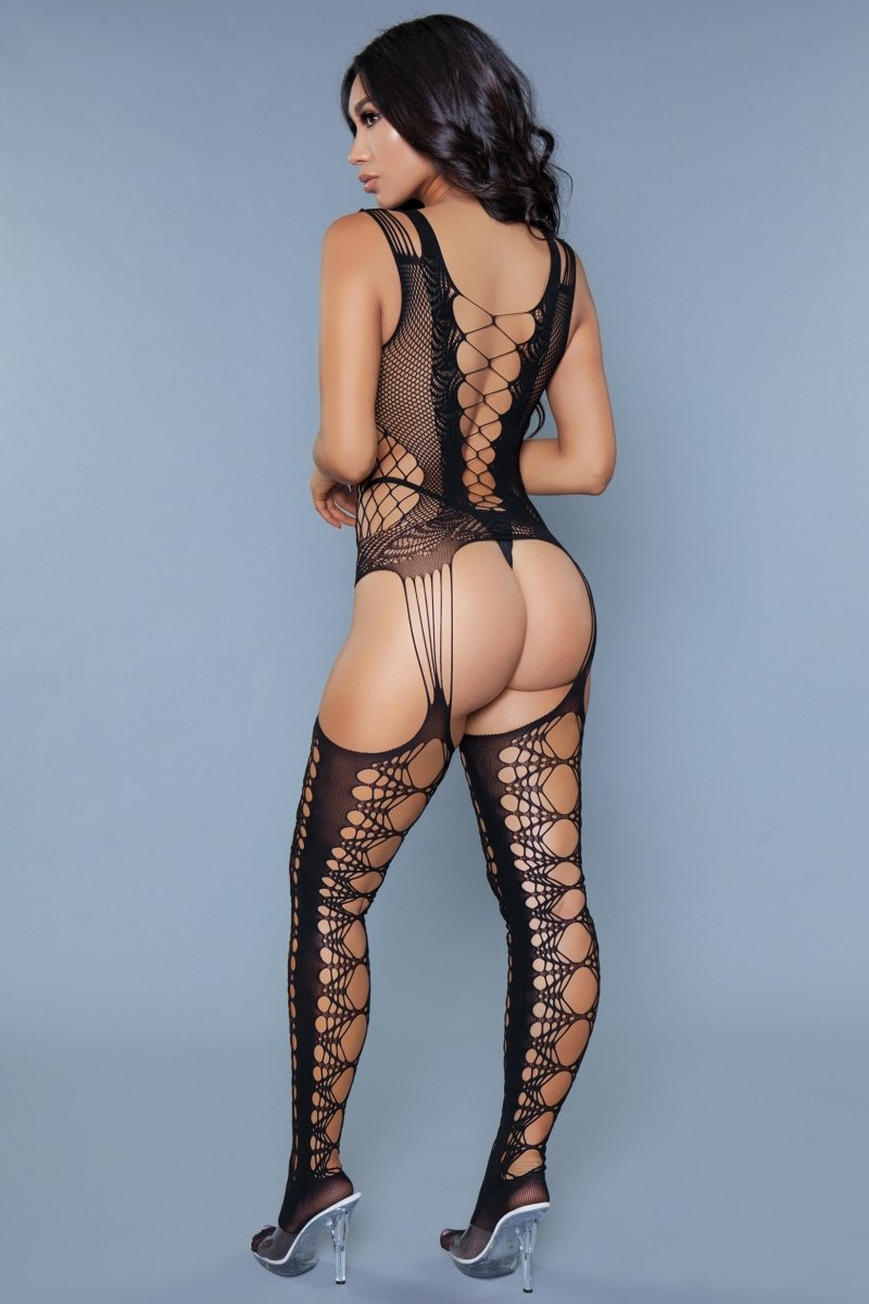Cross Me Bodystocking