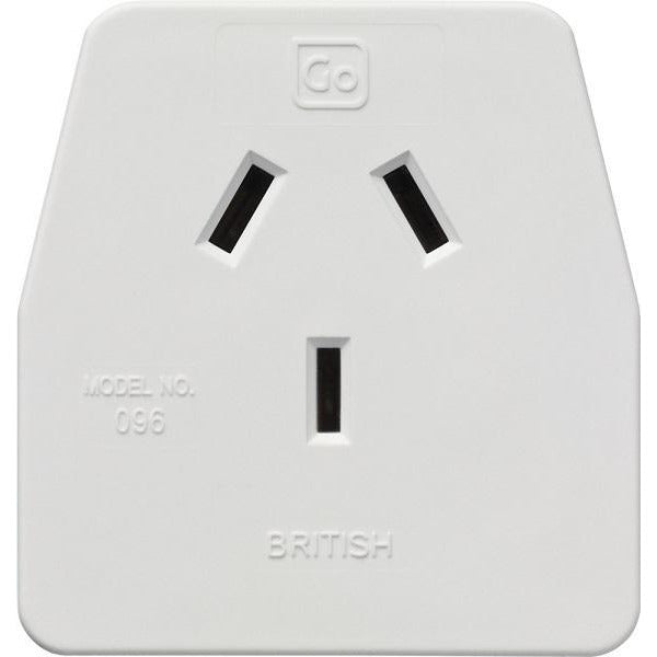 GO Travel British Adaptor GO096