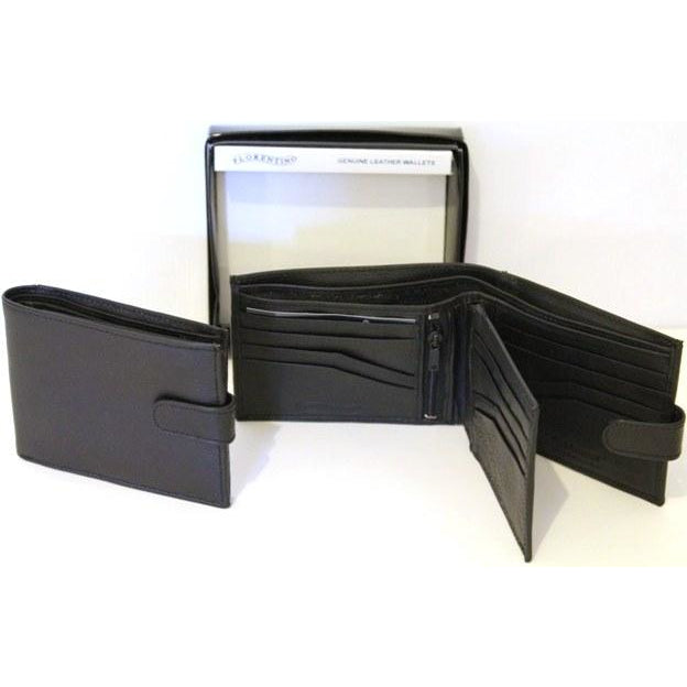 Bakshi RFID Leather Wallet. Style 11000
