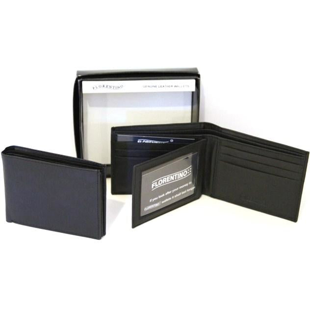 Bakshi RFID Men's  Leather Wallet Style 11002