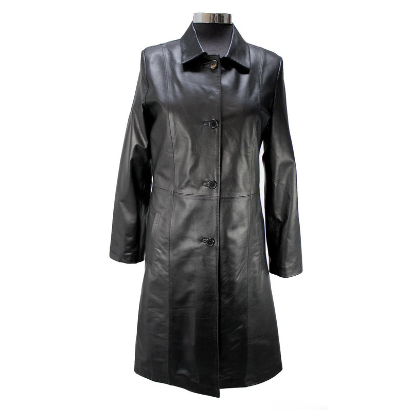 Siricco Women's Long Coat SI033  Made in Australia