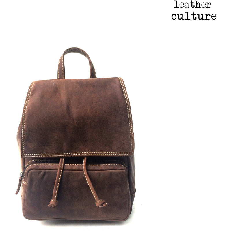 Leather Culture Leather  Backpack GB156