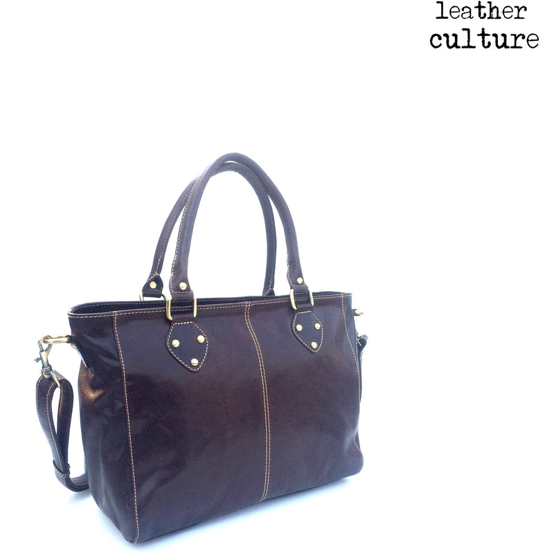 LEATHER CULTURE' VINTAGE SHOPPER V141 -NEW