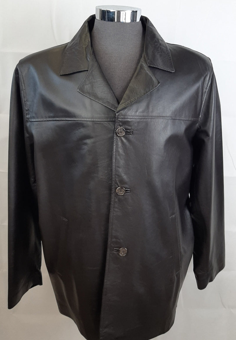 Jack Men's Italian Leather Jacket -Made in Australia SIJACKL