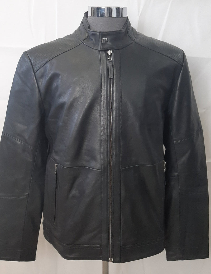 Men's Classic Leather Jacket LW02