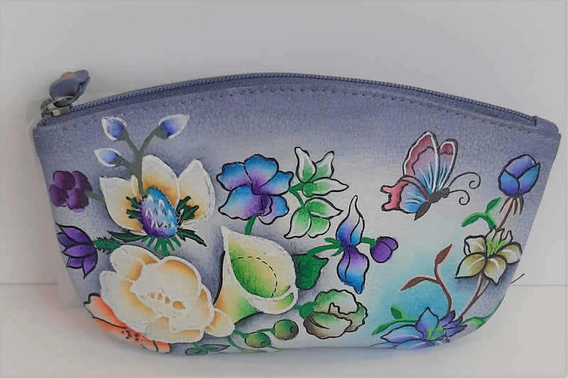Modapelle Hand Painted Leather Pouch 2951