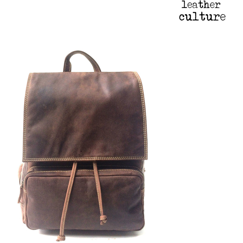 Leather Culture Large Backpack GB155