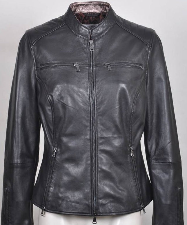 Women's Italian Leather Jacket 230047