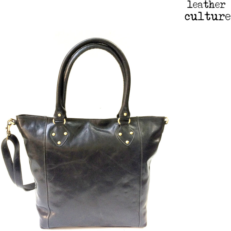 LEATHER CULTURE' VINTAGE SHOPPER V140 -NEW