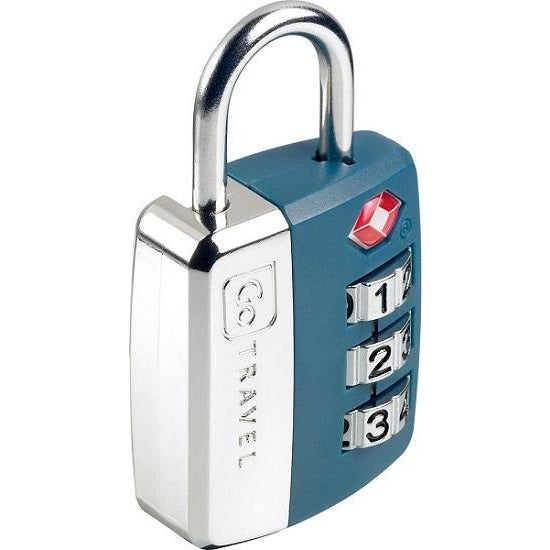 GO Travel Wheel TSA Combination Padlock GO345