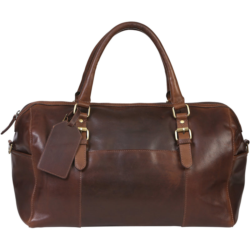 Modapelle Vintage Leather Overnight Bag UL3900