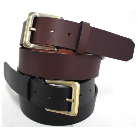 Bakshi Full Grain Leather 38mm Belt  Style 41004