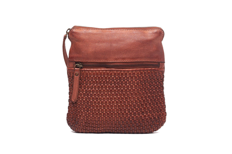 Oran Teagan  Women's Leather Woven Bag  ORRH2225