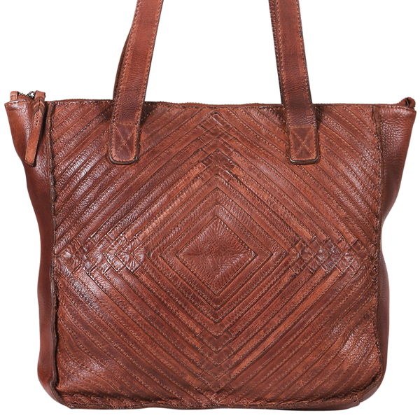 Modapelle Vintage Leather Tote 5866