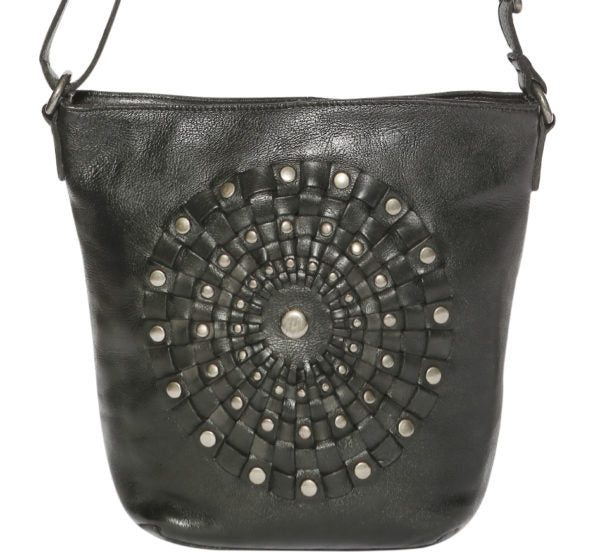 Modapelle Vintage Leather Bucket Bag 5912