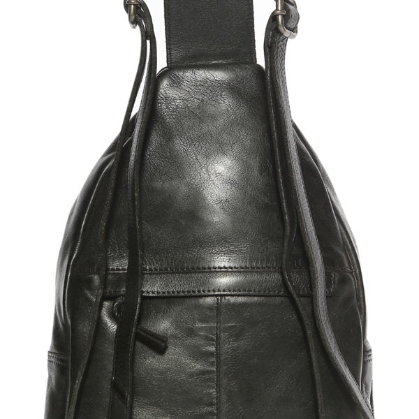 Modapelle Woven Vintage Leather Backpack 5918