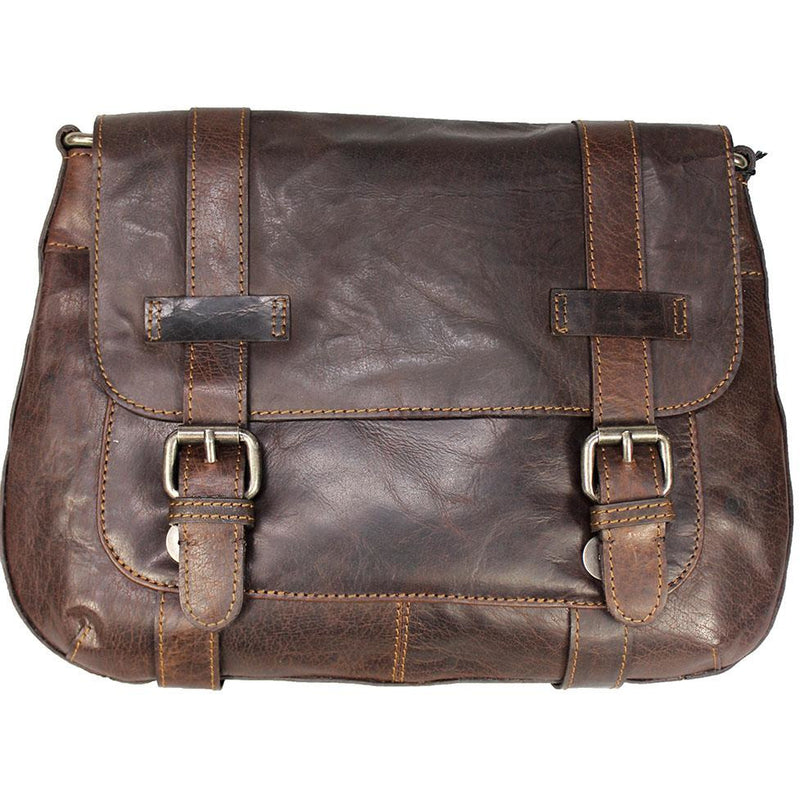 RUGGED HIDE 'CHESTER' VACCETTA LEATHER BAG ORRH7008