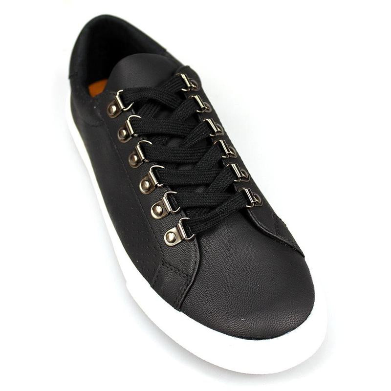 Human Paul Leather Look Sneaker