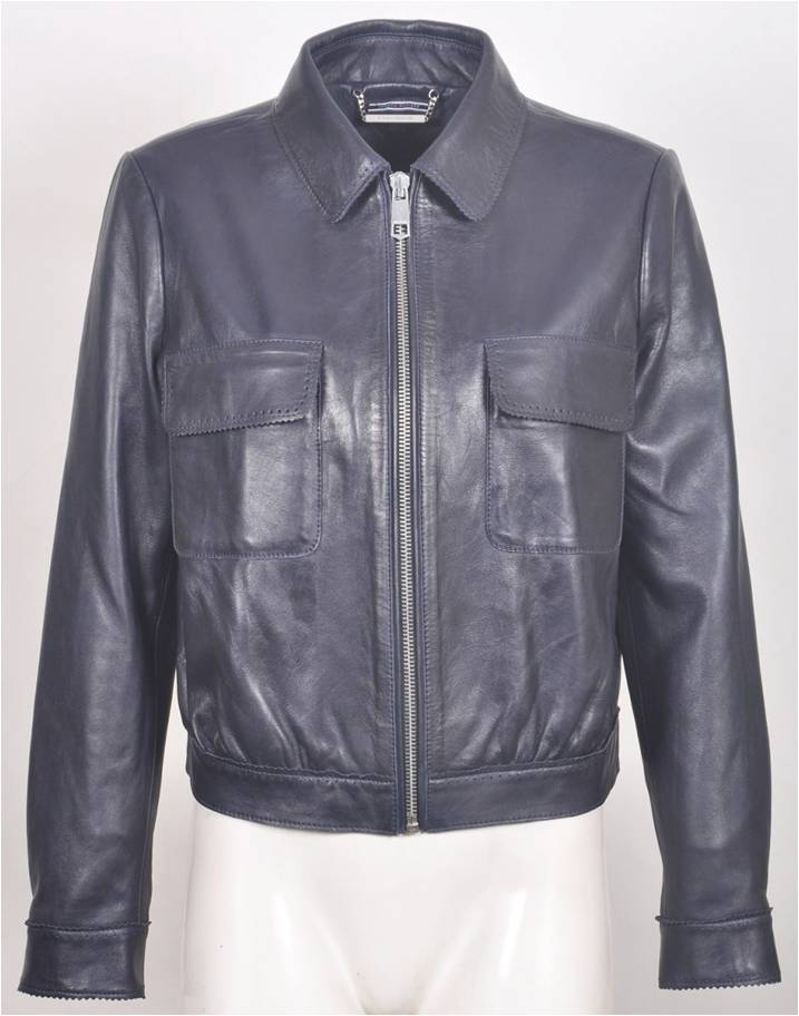 Bonnie Women's Short Leather Jacket
