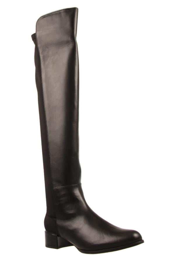 Human Premium Ebony Tall  Boot