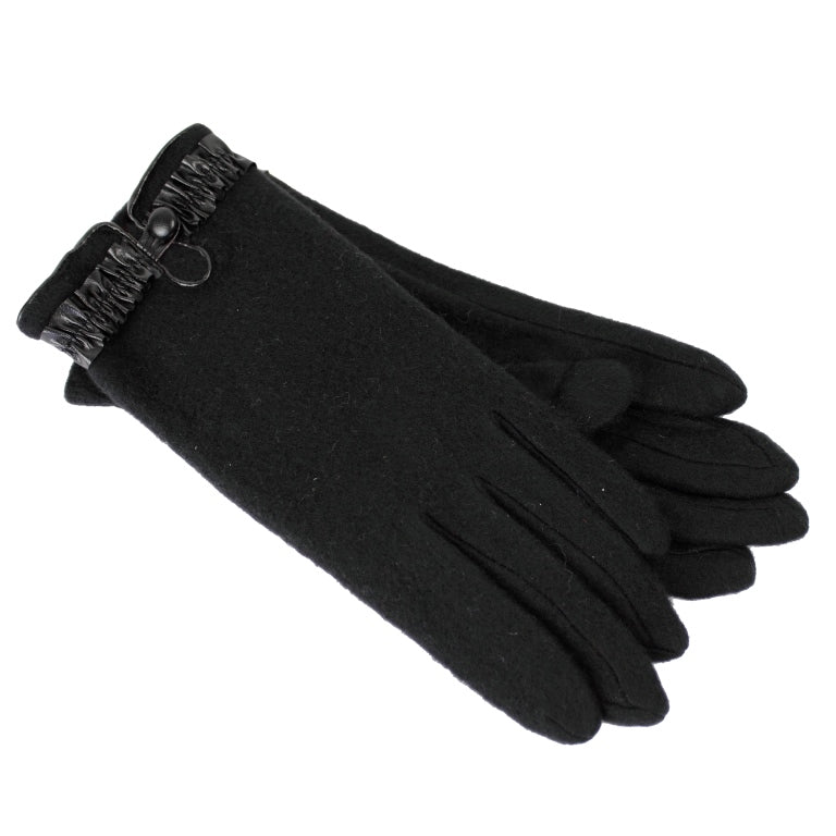 Dents Soft Feel 3 Button Wool Gloves 76-0021