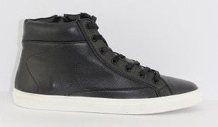 Human Premium Men's Leather Donte Hi Top Sneaker