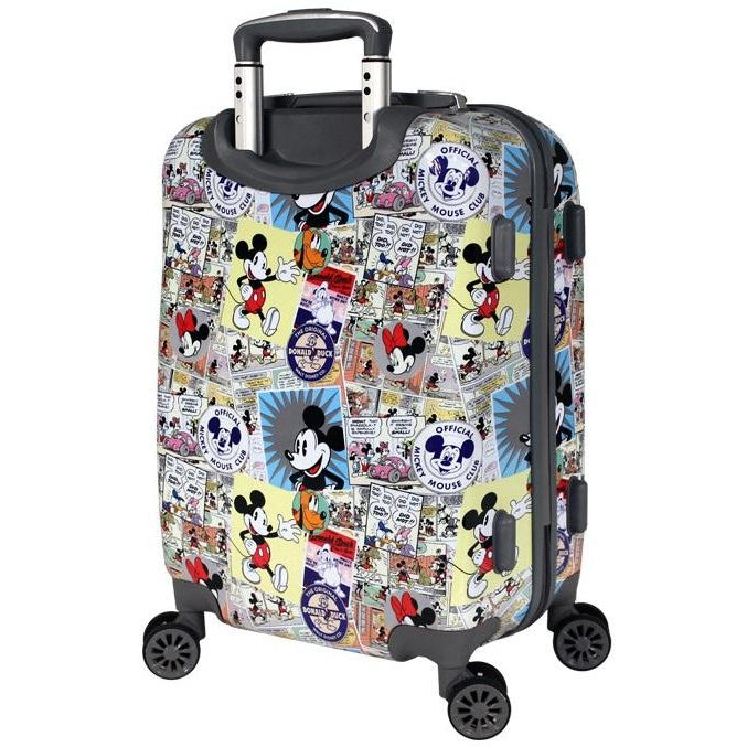Disney Comic Mickey 55cm Small Hardside Suitcase