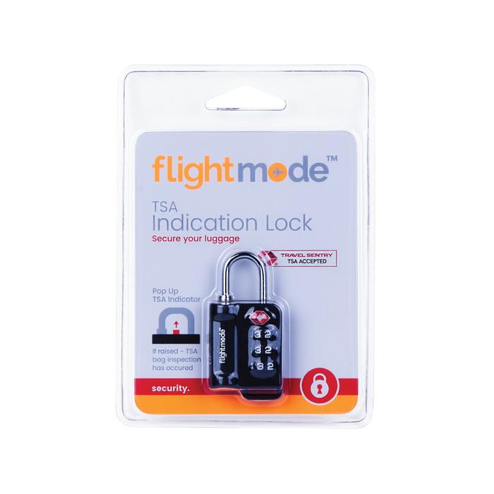 Flightmode TSA Pop Up Indication Lock FM0021